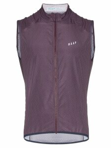 MAAP lightweight gilet jacket - Purple