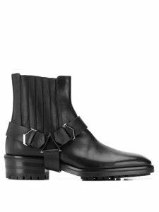Jimmy Choo Lokk Vacchetta boots - Black