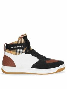 Burberry high-top sneakers - Brown