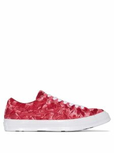 Converse X GOLF le FLEUR* One Star velvet sneakers - Red