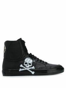 Philipp Plein skull Hi-top sneakers - Black
