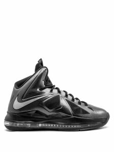 Nike Lebron 10 high top sneakers - Black
