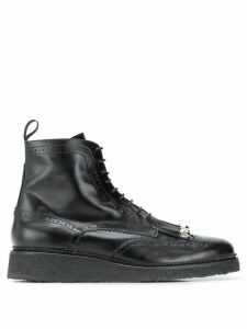 Toga Virilis brogue detail boots - Black