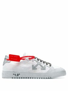 Off-White cross logo sneakers