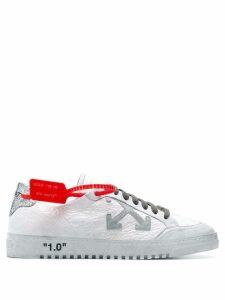 Off-White cross logo sneakers
