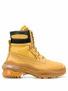 Maison Margiela work ankle boots - Yellow