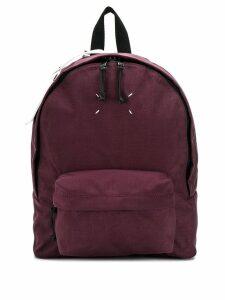 Maison Margiela stitching detail backpack - PURPLE