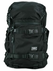 As2ov Cordura Dobby 305D round zip backpack - Black