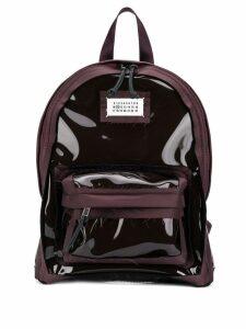 Maison Margiela Décortiqué backpack - Red