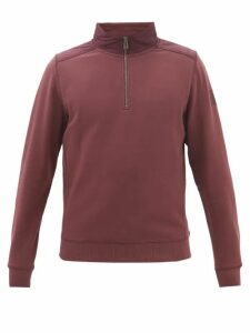 Café Du Cycliste - Albertine Padded Cycling Gilet - Mens - Navy Multi