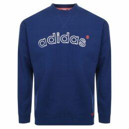 adidas Originals 90s ARC Logo Sweatshirt Navy