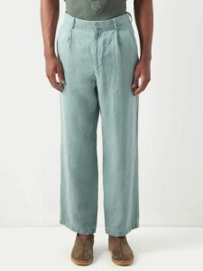 Tricker's - Stow Suede Brogue Boots - Mens - Khaki