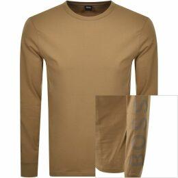 BOSS HUGO BOSS Contemporary Sweatshirt Beige Marl