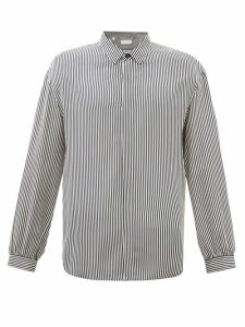 Off-white - Suede And Leather Hiking Boots - Mens - Black