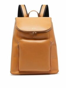 Paul Smith - Leather Backpack - Mens - Tan