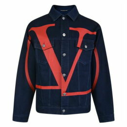 Valentino Vlogo Denim Jacket