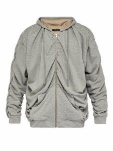 Y/project - Reversible Cotton Sweatshirt - Mens - Grey