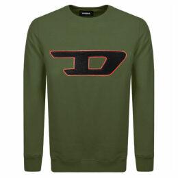 Diesel Division D Logo Sweatshirt Green