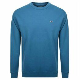Tommy Jeans Washed Sweatshirt Blue