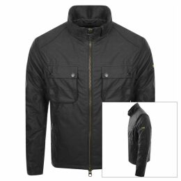 Barbour International Byward Wax Jacket Grey
