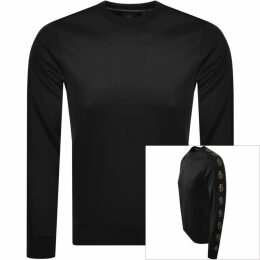 Love Moschino Peace Logo Sweatshirt Black