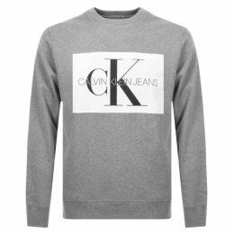Calvin Klein Jeans Monogram Sweatshirt Grey