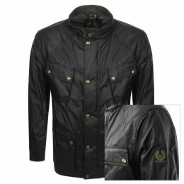 Belstaff Fieldmaster Waxed Jacket Black