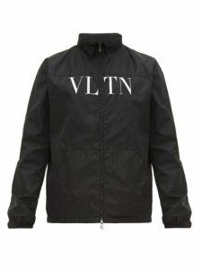 Valentino - Vltn Print Track Jacket - Mens - Black
