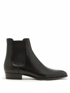 A.p.c. - Kaplan Pinstripe Cotton Blend Trousers - Mens - Navy