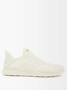 Valentino - Camouflage Jacquard Virgin Wool Sweater - Mens - Khaki Multi