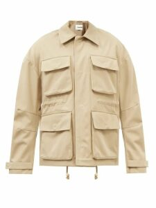 Bottega Veneta - Chunky Gauge Wool Sweater - Mens - Camel