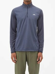Valentino - Logo Print Technical Jersey Track Jacket - Mens - Black