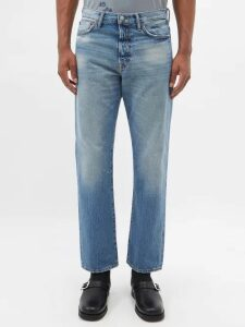 Etro - Roll Neck Cable Knitted Wool Sweater - Mens - Blue