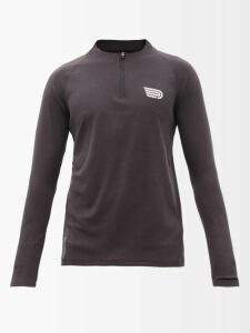 Burberry - Logo Print Cotton Hooded Sweatshirt - Mens - Orange