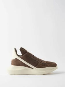 Valentino - Logo Print Oversized Cotton Jersey Hoodie - Mens - Navy