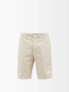 Ami - Washed Slim Leg Jeans - Mens - Grey