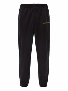 Saturdays Nyc - Gino Technical Jersey Track Pants - Mens - Black