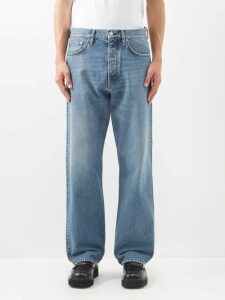 Ami - Relaxed Leg Jeans - Mens - Denim