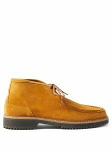 Marcelo Burlon - Oversized Mouth Print Cotton Hooded Sweatshirt - Mens - Black Grey