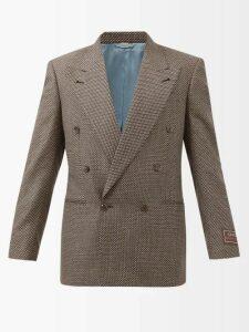 Craig Green - Laced Crew Neck Cotton Jersey Sweatshirt - Mens - Black