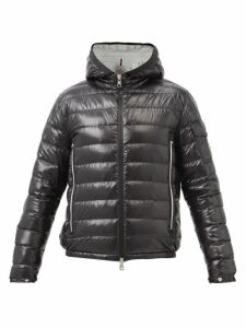 Craig Green - Laced Zip Through Cotton Hooded Sweatshirt - Mens - Black