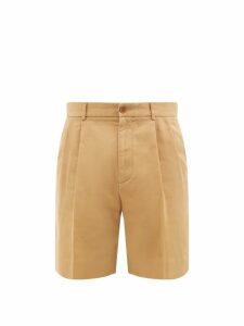 Etro - Paisley Jacquard Cotton Twill Trousers - Mens - Blue