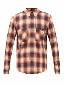 Balmain - Logo Print Cotton Jersey Sweatshirt - Mens - Grey