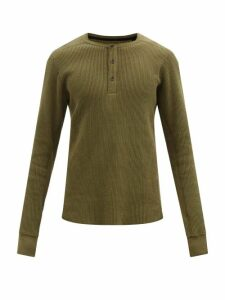 Balmain - Elasticated Logo Webbing Cotton Blend Track Pants - Mens - Grey