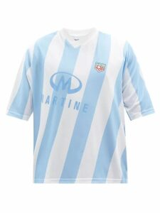 Palm Angels - Bandana Panelled Technical Jersey Track Jacket - Mens - Multi
