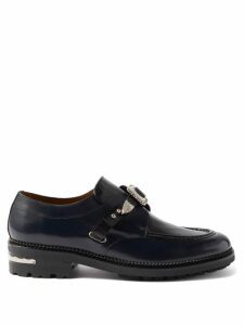 Balmain - Jacquard Logo Trim Cotton Sweatshirt - Mens - Black