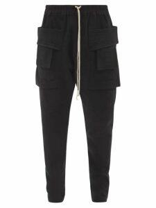 Palm Angels - Logo Print Track Pants - Mens - Green