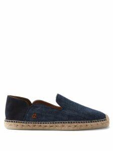 Alexander Mcqueen - Skull Embroidered Cotton Sweatshirt - Mens - Black