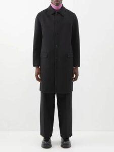 Ami - Logo Appliquéd Cotton Jersey Sweatshirt - Mens - Grey