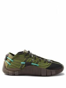 Neil Barrett - Low Rise Fitted Cuff Tailored Trousers - Mens - Black